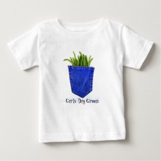 Girls Dig Green t-shirt