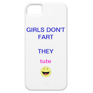 girls don't fart... iPhone 5 covers
