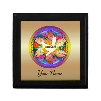"Girl's""Dove Dream""Floral Design Giftbox Keepsake Boxes"