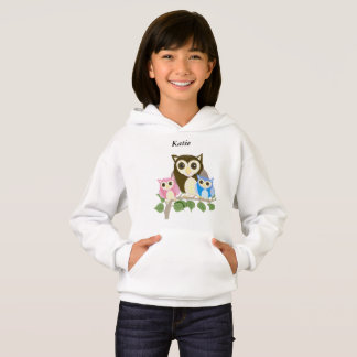 Girls editable Owl