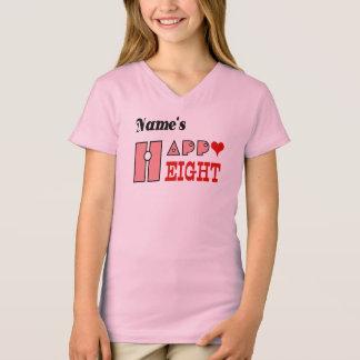 Girl's Eight years birthday tshirt HQH