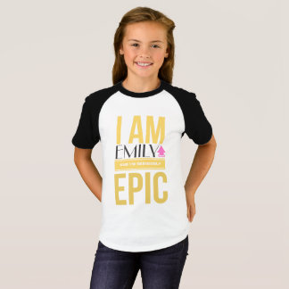 """GIRL'S """"Epic Kid"""" Personalized Shirts"""