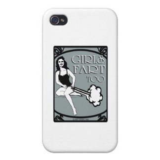Girls Fart Too Cover For iPhone 4