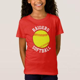 Girls Fastpitch Softball Team Custom T-shirt