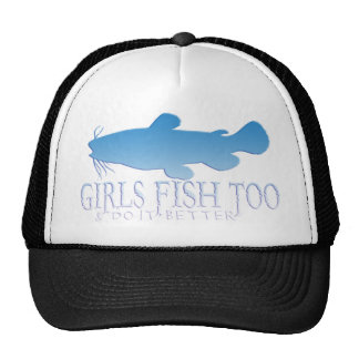 GIRLS FISH TOO CATFISH TRUCKER HAT