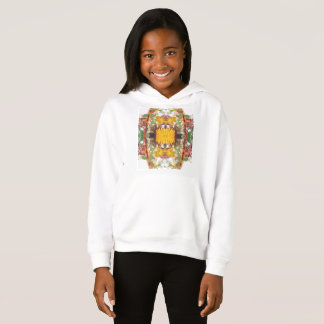 Girls' Fleece Pullover Hoodie