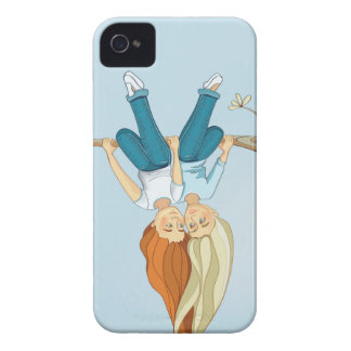 Girls friendship iPhone 4 Case-Mate cases