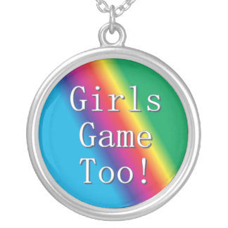 Girls Game Too Rainbow Necklace