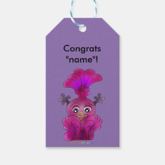 """Girl's Gift Tag """"Lila"""" Pack Of Gift Tags"""