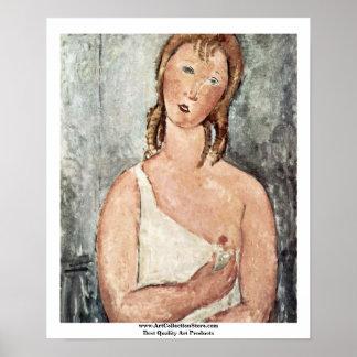 Girls (Giovana Rossa?) A Shirt Poster