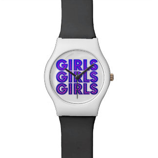 Girls Girls Girls Graphic Watch