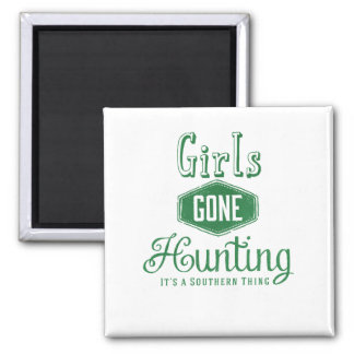Girls Gone Hunting Magnet