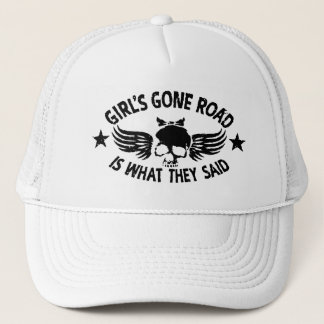 Girl's Gone Road Trucker Hat