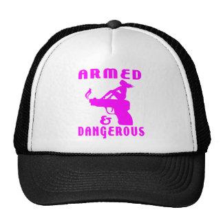 GIRLS & GUNS MESH HAT
