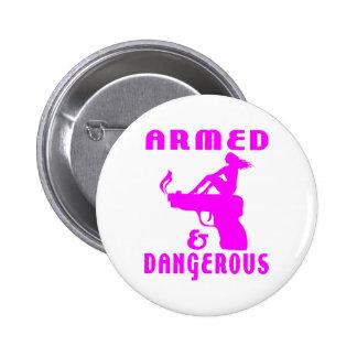 GIRLS GUNS PIN