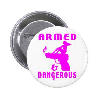 GIRLS GUNS PINS