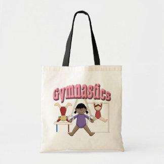 Girls Gymnastics Tote Bag