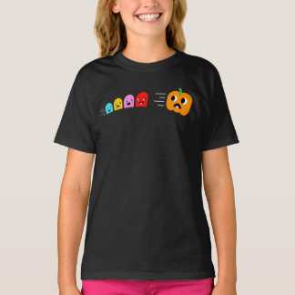 Girl's Halloween T-shirt: Pac-O-Lantern T-Shirt