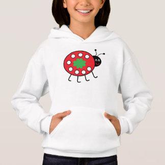 Girls' Hanes ComfortBlend® Hoodie Lucky Ladybird