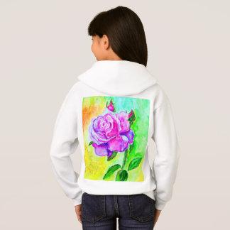 Girls' Hanes ComfortBlend® Hoodie - rose