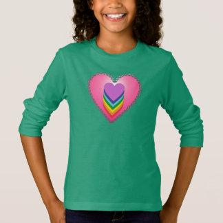 Girl's Heart Long Sleeve T-Shirt