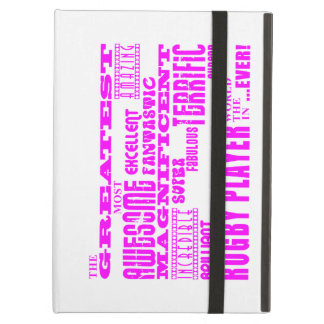 Girls Hockey : Pink Greatest Rugby Player iPad Cases