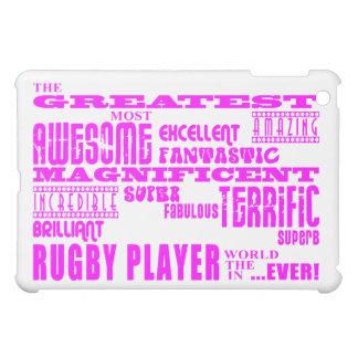 Girls Hockey : Pink Greatest Rugby Player iPad Mini Case