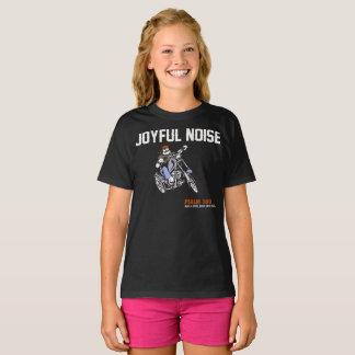 """Girls """"Joyful Noise"""" Holy Discontent T-Shirt"""