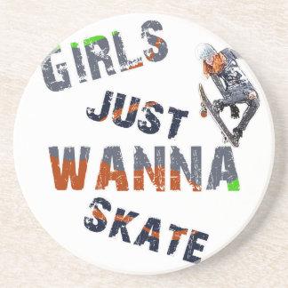 Girls just wanna skate coaster