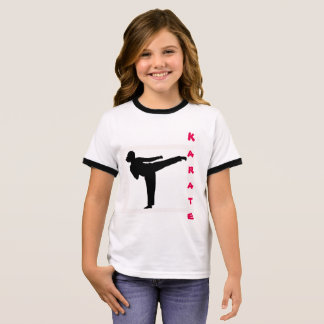 Girls Karate T-Shirt