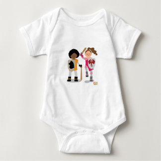 Girls Knight out Baby Bodysuit