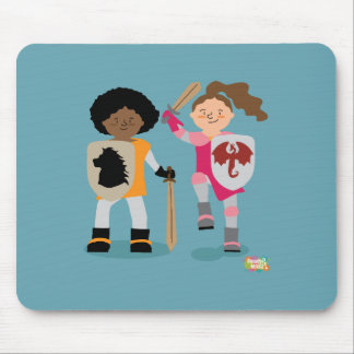 Girls Knight out Mouse Pad