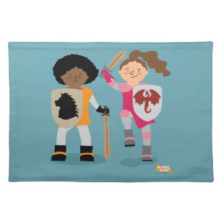 Girls Knight out Place Mats