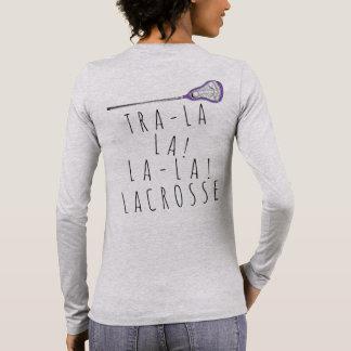 Girls Lacrosse Long Sleeve T-Shirt