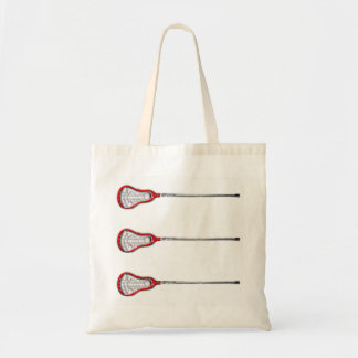 Girls Lacrosse Tote Bag