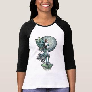 Girls Ladies Fairy and Full Moon Shirt