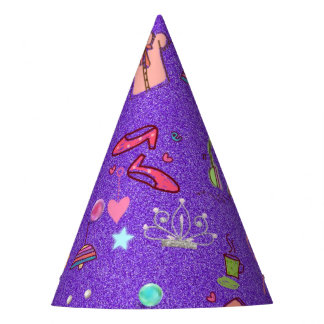 Girls Life lilac Party Hat