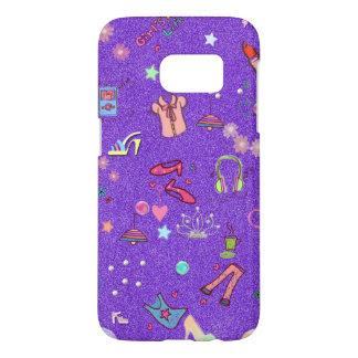 Girls Life lilac Samsung Galaxy S7 Case