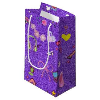 Girls Life lilac Small Gift Bag
