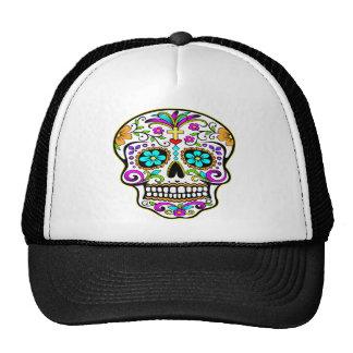 Girls Like Girly Skulls Mesh Hat