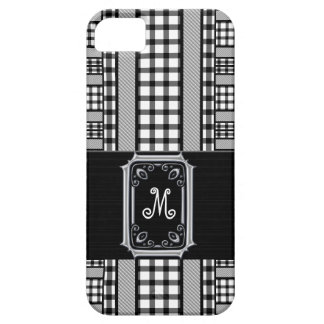 Girl's Little Black Accessory in Checks Monogram iPhone 5 Covers