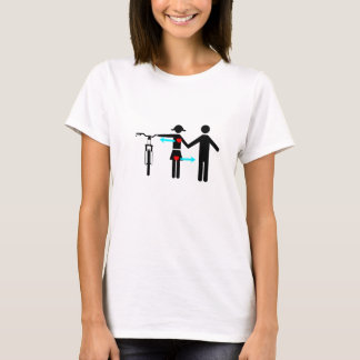 Girls love bikes T-Shirt