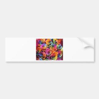 Girls love flowers! bumper sticker