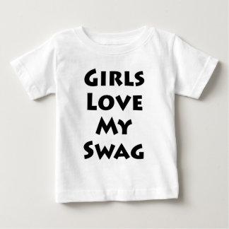 Girls Love My Swag Baby T-Shirt