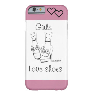 Girls Love Shoes phone case