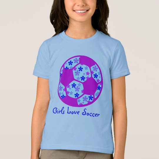 Girls Love Soccer T-Shirt