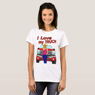 Girls love Trucks T-Shirt