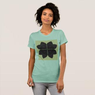 Girls MINT t-shirt with mandala