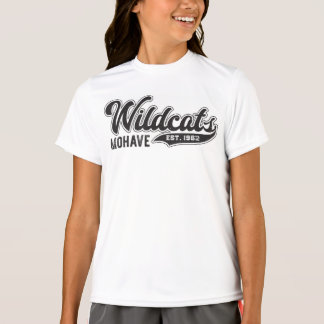 Girls Mohave Wildcats Est. 1962 Sport-Tek T-Shirt