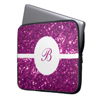 Girls Monogram Laptop Sleeve
